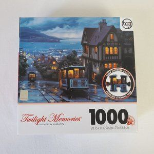 Twilight Memories 1000 Piece Puzzle Old Cable Car